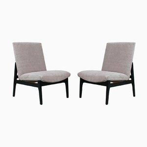 Englische Sessel von Parker Knoll, 1960er, 2er Set