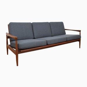 Mid-Century Teak Sofa von Erik Wørts für Ikea, 1960er