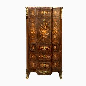 Louis XV Style Marquetry Secretaire