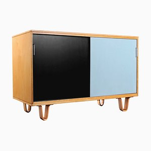 Small Birch Db51 Combex Series Sideboard by Cees Braakman for Pastoe, 1950s