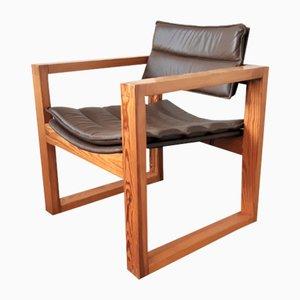 Cubic Lounge Chair by Ate Van Apeldoorn for Houtwerk Hattem, the Netherlands, 1960s