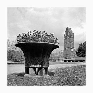 Flowers Wedding Tower Mathildenhoehe Darmstadt, Germany, 1938, Printed 2021