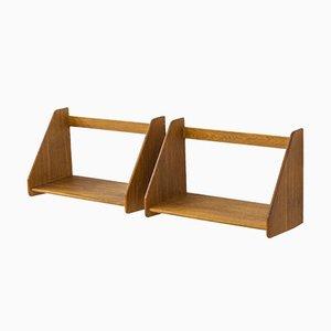 Wall Shelves by Hans J. Wegner, Set of 2