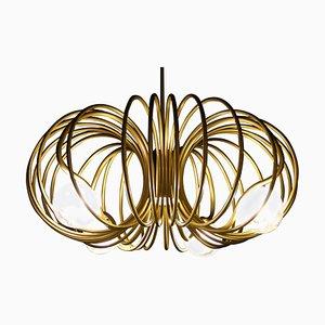 Pulsar Completo Brass Chandelier