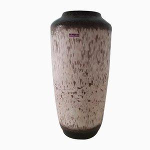Large Vintage 517 50 Floor Vase in Beige-Brown Ceramic from Scheurich, 1970s
