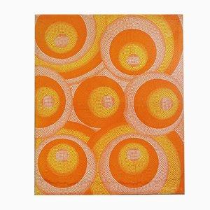 Orange Polka Dot Painting, 2000s