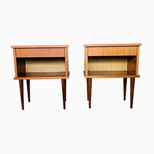 Mid-Century Nightstands from Capelle, 1970s, Set of 2