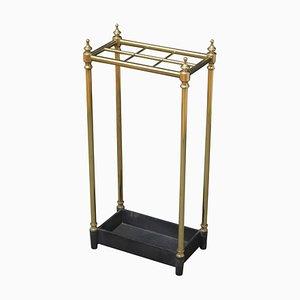 Victorian Brass Umbrella Stand