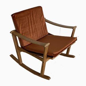 Oak Rocking Chair by M. Nissen for Pastoe