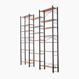 3-Piece Bookcase by Campo & Graffi for Home, 1960s
