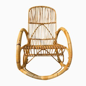 Rocking Armchair Attributed to Franco Albini, 1950s