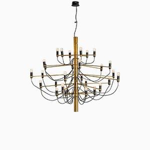 Lámpara de araña 2097/30 de Gino Sarfatti para Arteluce, años 50