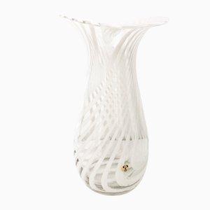 Zebra Glass Vase with Kenya Design from Peill & Putzler, 1970s