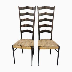 Chiavari Chairs, Early 1900s, Set of 2