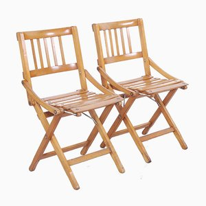 Children's Folding Chairs from Fratelli Reguitti, Set of 2