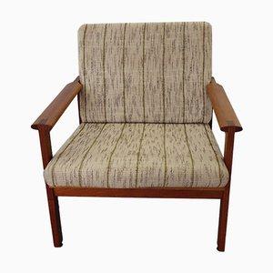 Armchair by I. Wikkelso for Niels Eilersen, Denmark, 1960s