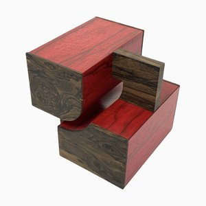 Modell BZF004 Red Box Skulptur von Frédéric D. Driani