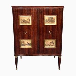 Italian Bar Cabinet by Paolo Buffa, 1950s