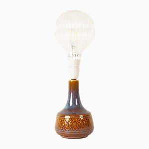 Vintage Danish Ceramic Table Lamp from Søholm, 1960s