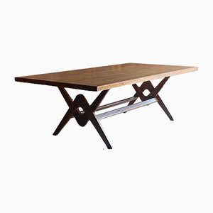 Committee Table in Teak by Pierre Jeanneret, India, 1960s