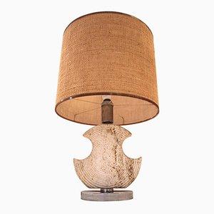 Lampe de Bureau en Céramique, France, 1970s