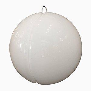 Lámpara de pie italiana grande esférica de Harvey Guzzini, arededor de 1970