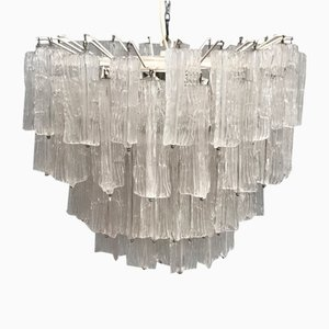 Murano Glass Chandelier by Toni Zuccheri for Venini