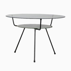 Tripod Coffee Table by W.H. Gispen for Kembo, the Netherlands, 1950s