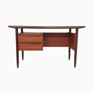 Mid-Century Schreibtisch aus Teak von Tijsseling, Niederlande, 1950er