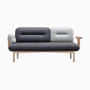 Graues Cosmo Sofa von La Selva