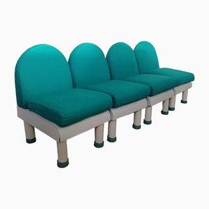 Modulares italienisches Sofa, 1980er, 4er Set