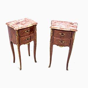 Tables de Chevet Louis Philippe, 1910s, Set de 2