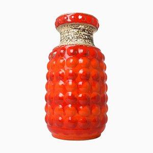 Mid-Century German Nr. 64-40 Fat Lava Bubble Floor Vase from Bay Keramik, 1950s