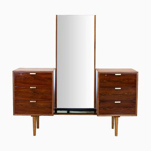 Interplan Rosewood Dressing Table by Robin Day for Hille, 1950s