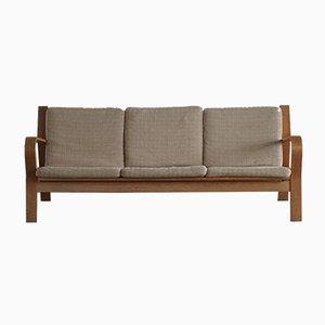 Dänisches modernes Ge 671 3-Sitzer Sofa von Hans J. Wegner für Getama, 1960er
