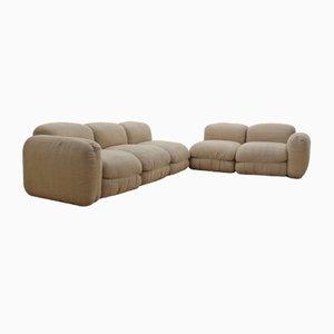 Vintage Italian Modular Sofa, 1970s, Set of 5