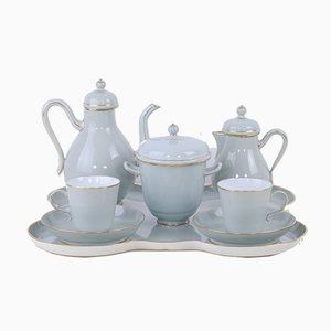 Servicio de té de porcelana de Sevres, 1882 y 1883. Juego de 8