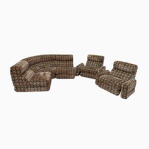 Modulares Vintage 5-Sitzer Sofa