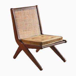 Model Lc-010620 Teak Low Chair by Pierre Jeanneret, 1956