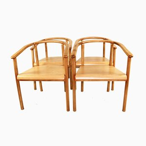 Vintage Polish Dining Chairs, Set of 4