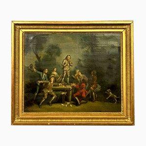 Northern European School Oil on Canvas, 18th Century