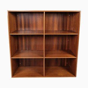 Light Mahogany Bookcase by Mogens Koch for Rud Rasmussen, 1960s