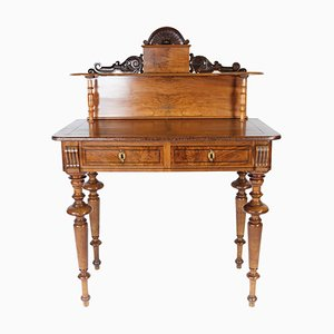 Walnut Dressing Table with Carvings, 1880s