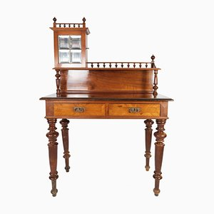 Walnut and Glass Dressing Table, 1880s