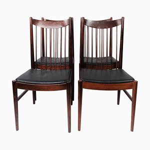 Model 422 Dining Room Chairs by Arne Vodder, 1960s, Set of 4
