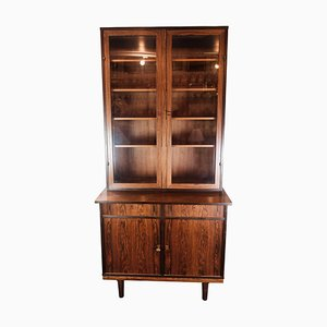 Danish Rosewood and Glass Cabinet, 1960s