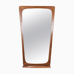 Danish Teak Mirror, 1960s