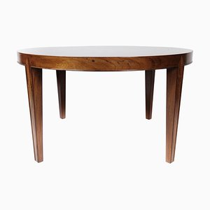 Coffee Table in Rosewood Designed by Severin Hansen for Haslev, 1960s
