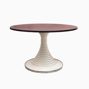 Rosewood Pedestal Dining Table by Carlo di Carli for Luigi Sormani, 1960s