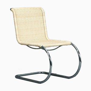 Thonet MR10 Freischwinger Bauhaus Geflecht Sessel